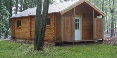 bathhouse log cabin kits - alpine bathhouse