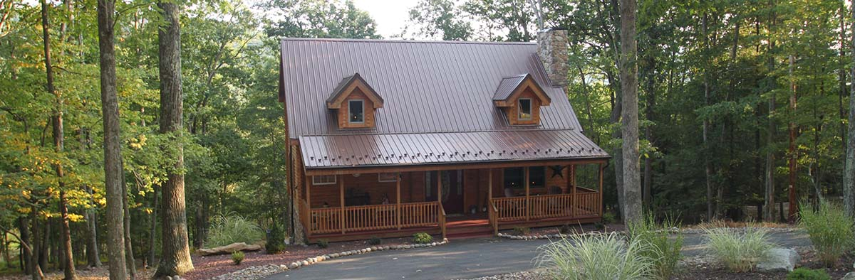 Exterior: Log Cabin Kit Turn Key Cost