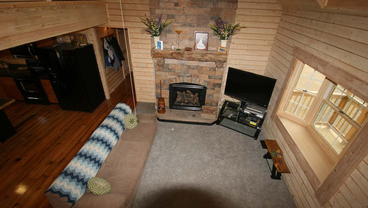 log home kits - windsor