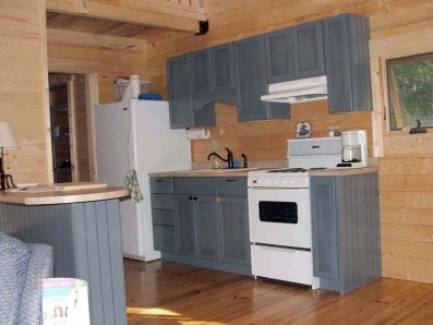 Make the Most of a Small Log Cabin Kitchen | Log Cabin Kits ...