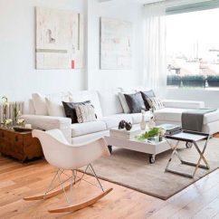 Eames Rocking Chair Ergonomic Bedroom Cadeiras De Balanço, Hora Relaxar! - Conexao Decor