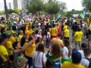 Movimento Direita Amazonas realiza ato histórico em Manaus 16
