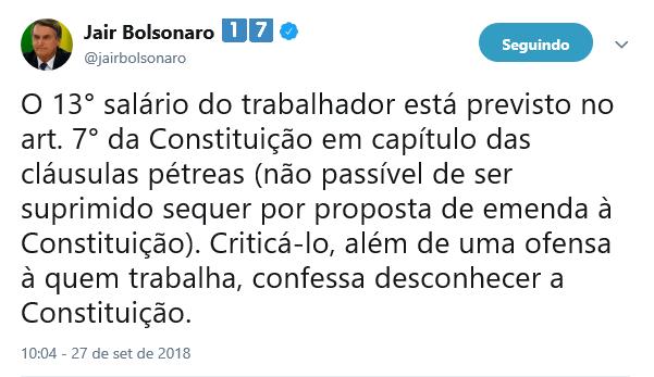 Em propaganda na TV, Alckmin espalha 'fake news' sobre Bolsonaro e décimo terceiro 19