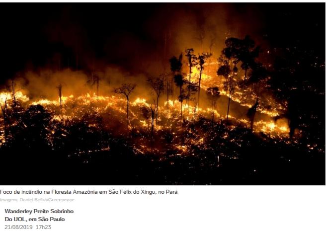 Checamos! Para criticar suposto descaso com a Amazônia, celebridades e líderes políticos publicam imagens antigas 20