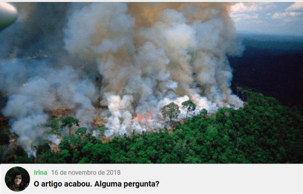 Checamos! Para criticar suposto descaso com a Amazônia, celebridades e líderes políticos publicam imagens antigas 17