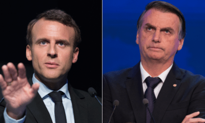 Bolsonaro rebate Macron e diz que visão do francês 'evoca mentalidade colonialista descabida no século XXI' 32