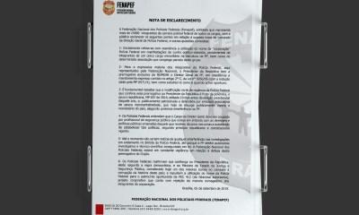 Federação Nacional dos Policiais Federais emite nota em defesa de Bolsonaro; leia a íntegra 16