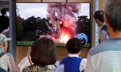 Coreia do Norte lança mais dois mísseis balísticos 16
