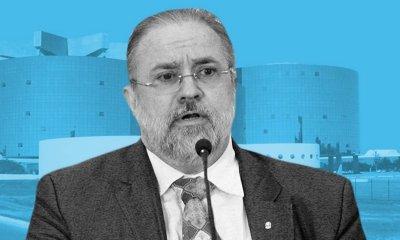 Augusto Aras e Ailton Benedito na PGR 12
