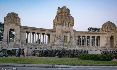 Exército da Itália é enviado para enterrar os mortos pelo coronavírus chinês 33
