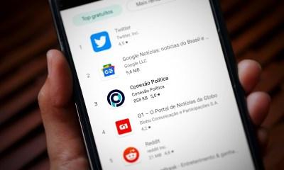 Conexão Política salta de 7° para 3° e ultrapassa G1 entre os apps de notícias mais baixados da Google Play 27