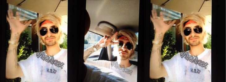 Bill Kaulitz em Los Angeles (06.08.2016)