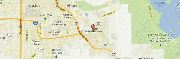 henderson nevada-map
