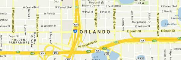 Orlando-map