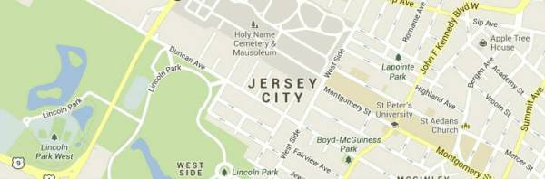 jersey city-map