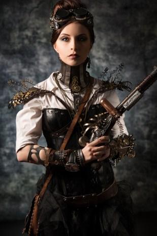 Traje Steampunk Mujer
