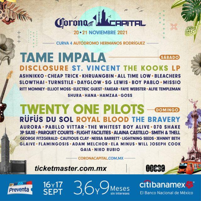 Festival Corona Capital 2021