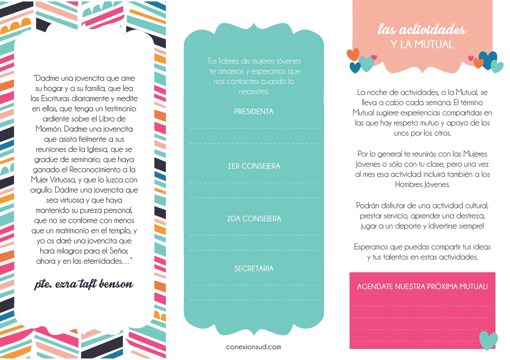 Bienvenida a las Mujeres Jóvenes! | Conexión SUD