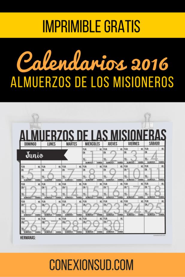 almuerzo de misioneros 2016-Conexión-SUD