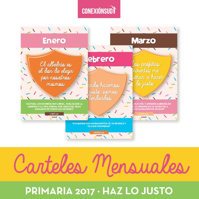 Carteles Mensuales de la Primaria 2017 - ConexionSUD