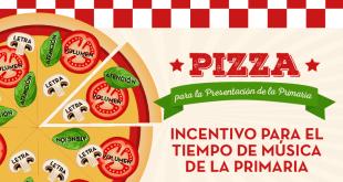 Pizza para la Presentacion de la Primaria - ConexionSUD
