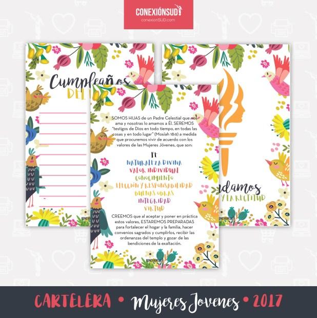 Cartelera Mujeres Jovenes 2017-ConexionSUD