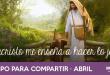 Abril: Jesucristo me enseña a hacer lo justo
