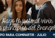Julio: Hago lo justo al vivir los principios del Evangelio