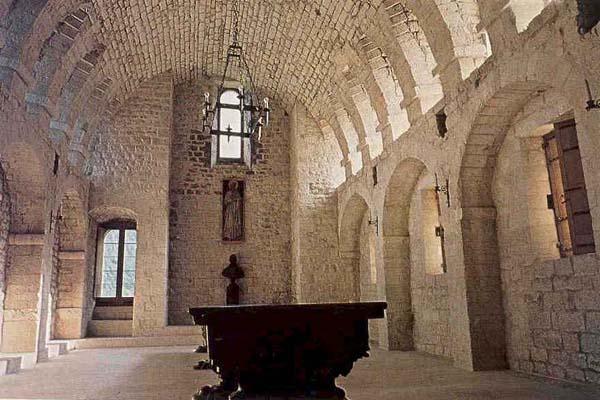 Interior do Mosteiro de Fonte Avellana.