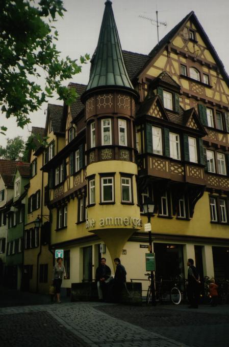 Unha casa tipica de Tubinga