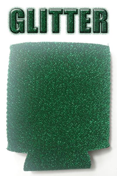 green glitter can coolie