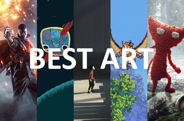 2017 Nordic Game Awards, Best Art