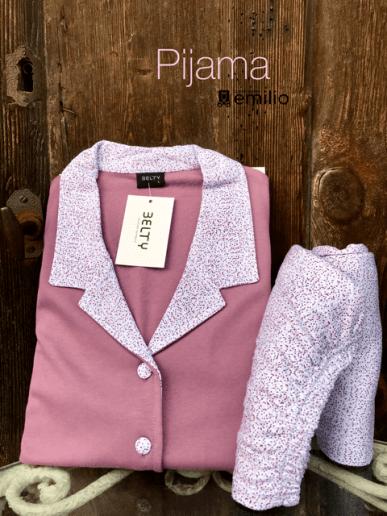 Pijama m/larga mujer - LIMANIA