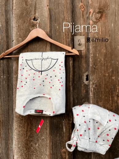 Pijama m/larga mujer - KISSA