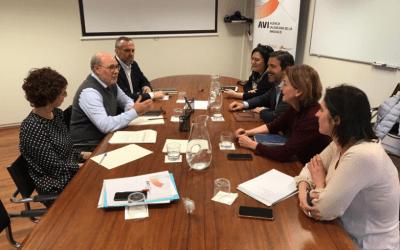 Confecomerç y la AVI acuerdan colaborar en el desarrollo de innovaciones dirigidas al pequeño comercio