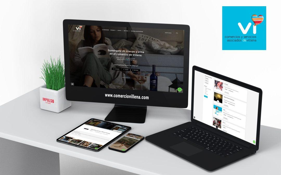 Comercios y Servicios Vi estrena web