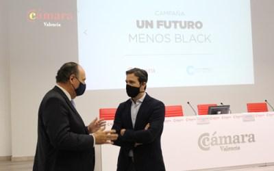 """Confecomerç CV impulsa la campaña del pequeño comercio """"Un Futuro Menos Black"""" en Valencia"""
