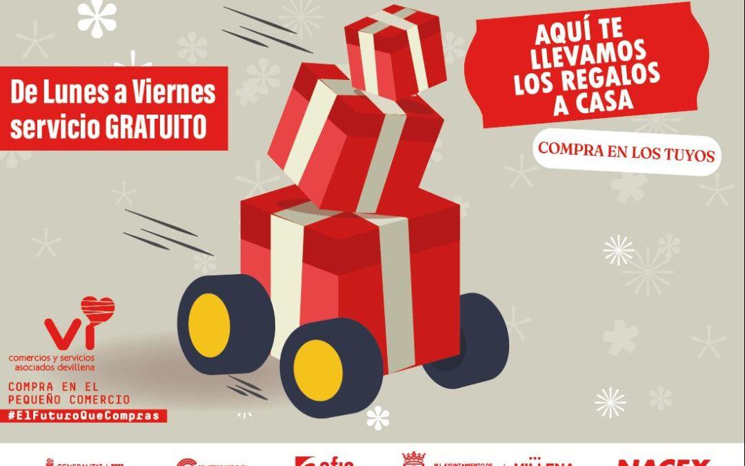 """Comercios y Servicios Vi reparte los regalos de forma gratuita en Navidad: """"Te llevamos los regalos a casa"""""""