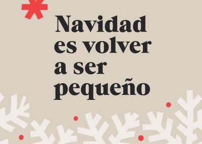 Campaña Navidad #RegalaPequeño