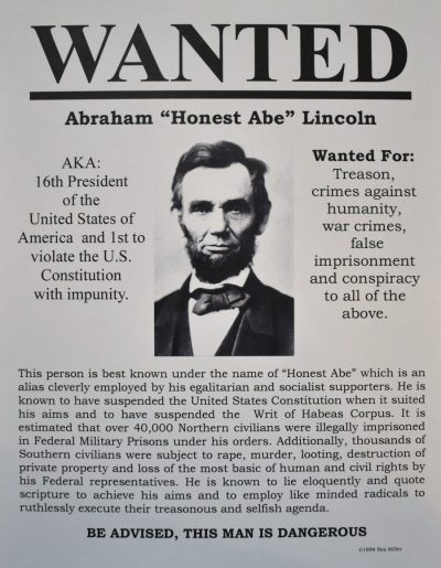 abraham lincoln, 16th president of the united states