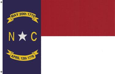 North Carolina 3X5