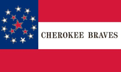 cherokee braves flag