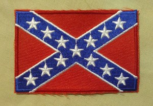 confederate flag - battle flag - rebel flag - confederate flag patch - quality