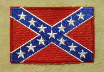 confederate flag - battle flag - rebel flag - confederate flag patch - quality