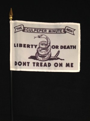 Culpeper Minute Men flag