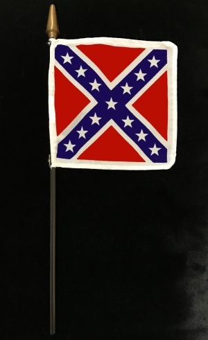 rebel grave flags
