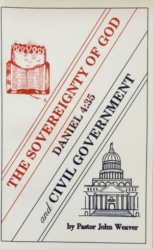the sovereignty of God and civil government
