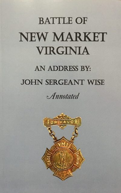 an address by John Sergeant Wise, cadet