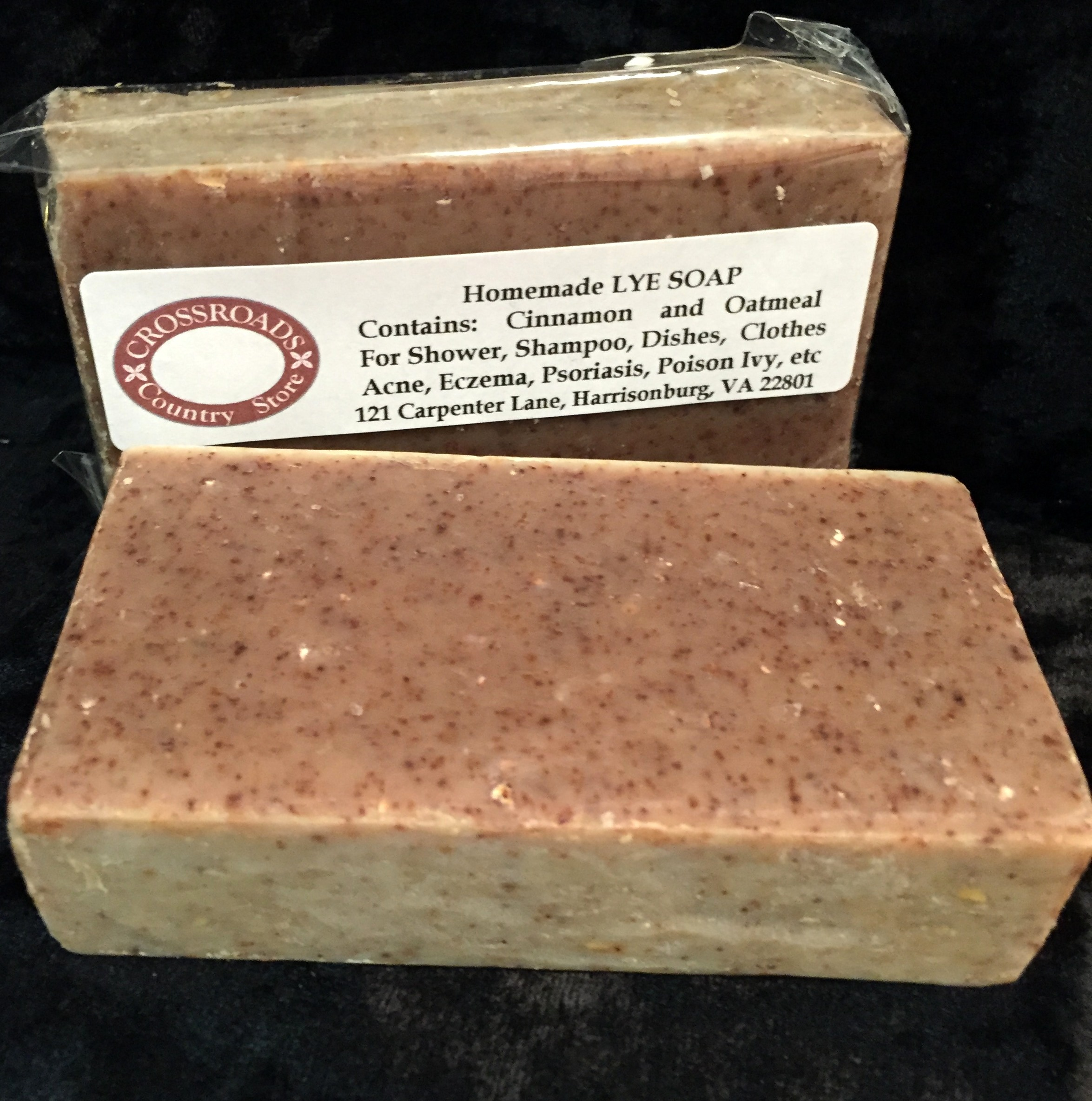 Homemade Lye Soap ~ Cinnamon 'n Oatmeal