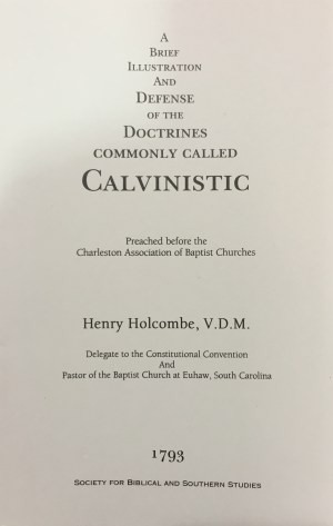 doctrines commonly called calvanistic